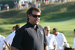 The 37th Ryder cup from Valhalla Golf Club in Louisville, Kentucky..Paul Azinger getting ready for the Team USA Picture...Photo: Fran Caffrey/www.golffile.ie.