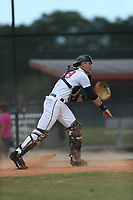 Jax Cash (68) of Spartanburg, South Carolina during the Under Armour Baseball Factory National Showcase, Florida, presented by Baseball Factory on June 13, 2018 the Joe DiMaggio Sports Complex in Clearwater, Florida.  (Nathan Ray/Four Seam Images)