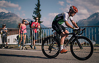 Mark Cavendish  (GBR/Dimension Data) arriving +1 hour after the stage winner (G.Thomas) as the very last rider over the finish line (with 400 meters to go) and WAY beyong the 32-minute time limit<br /> <br /> Stage 11: Albertville > La Rosière / Espace San Bernardo (108km)<br /> <br /> 105th Tour de France 2018<br /> ©kramon