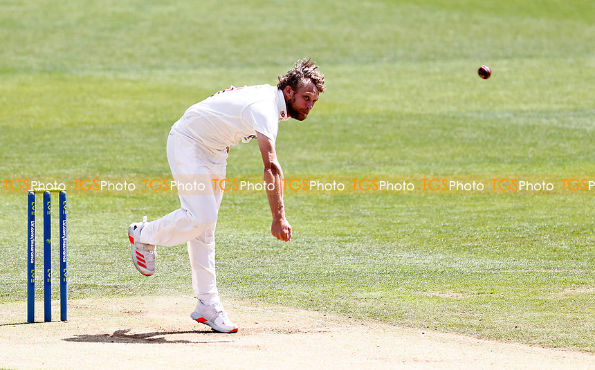 Gareth Berg bowls for Northants during Kent CCC vs Northamptonshire CCC, LV Insurance County Championship Group 3 Cricket at The Spitfire Ground on 5th June 2021