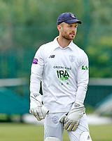 23rd September 2021; Aigburth, Liverpool, Merseyside, England; LV=Country Cricket Championship; Lancashire versus Hampshire; Hampshire keeper Lewis McManus