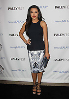13 July 2020 - Naya Rivera, the actress best known for playing cheerleader Santana Lopez on Glee, has been confirmed dead. Rivera, 33, is believed to have drowned while swimming in the lake with her 4-year-old son, who was found asleep on their rental pontoon boat after it was overdue for return. 27 February 2013 - Beverly Hills, California - Naya Rivera. PaleyFest Icon Award 2013 Held At The Paley Center for Media. Photo Credit: Kevan Brooks/AdMedia
