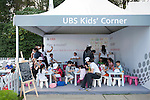 Spectator Village at UBS Hong Kong Open golf tournament at the Fanling golf course on 25 October 2015 in Hong Kong, China. Photo by Xaume Olleros / Power Sport Images