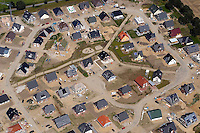 Deutschland, Schleswig- Holstein, Schoenningstedt, B46, B 46, B Plan 46, Wohnungsbau, Einzelhäuser