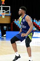 10-04-2021: Basketbal: Donar Groningen v ZZ Leiden: Groningen, Leiden speler Emmanuel Nzekwesi