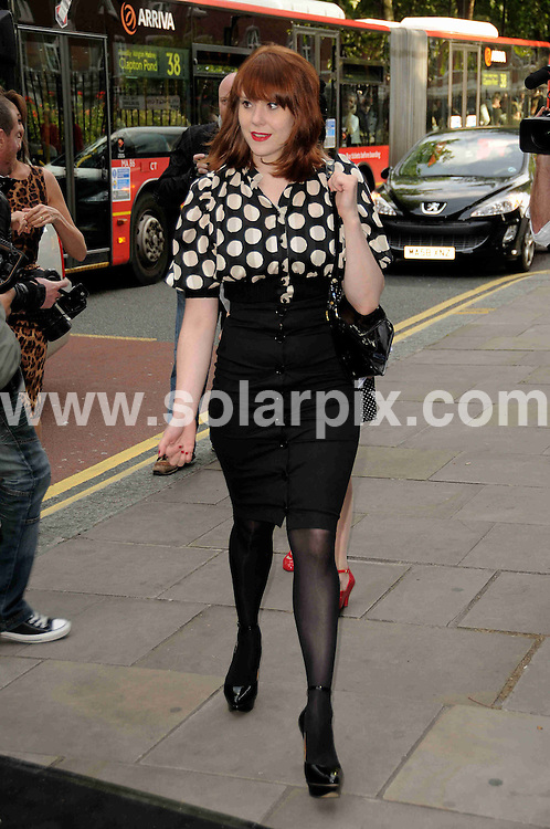 **ALL ROUND PICTURES FROM SOLARPIX.COM**.**WORLDWIDE SYNDICATION RIGHTS**.Celebrities arrive for a party at Sadlers Wells theatre. Sadlers Wells Theatre, London, UK. 16 June 2009..This pic: Kate Nash..JOB REF: 9255 MSR    DATE: 16_06_2009.**MUST CREDIT SOLARPIX.COM OR DOUBLE FEE WILL BE CHARGED**.**ONLINE USAGE FEE GBP 50.00 PER PICTURE - NOTIFICATION OF USAGE TO PHOTO @ SOLARPIX.COM**.**CALL SOLARPIX : +34 952 811 768 or LOW RATE FROM UK 0844 617 7637**