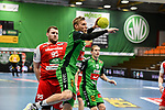 09Christoffer Rambo, n95Dominik Kalafut beim Spiel in der Handball Bundesliga, TSV GWD Minden - HSG Nordhorn-Lingen.<br /> <br /> Foto © PIX-Sportfotos *** Foto ist honorarpflichtig! *** Auf Anfrage in hoeherer Qualitaet/Aufloesung. Belegexemplar erbeten. Veroeffentlichung ausschliesslich fuer journalistisch-publizistische Zwecke. For editorial use only.