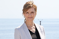Marie Richardson pose lors du photocall de BEFORE WE DIE pendant le MIPTV a Cannes, le lundi 3 avril 2017.