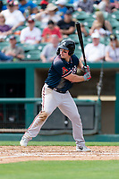 Reno Aces Travis Snider (16) batting during a game against the Fresno Grizzlies at Chukchansi Park on April 8, 2019 in Fresno, California. Fresno defeated Reno 7-6. (Zachary Lucy/Four Seam Images)