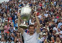 Queen's Club Tennis Championship - Milos Raonic v Andy Murray - Final - 19.06.2016