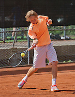 08-08-13, Netherlands, Rotterdam,  TV Victoria, Tennis, NJK 2013, National Junior Tennis Championships 2013, Jelle Sels<br /> <br /> <br /> Photo: Henk Koster