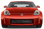 Straight front view of a 2008 Nissan 350z Coupe
