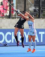 Amy Richardson during the Pro League Hockey match between the Blacksticks women and Argentina, Nga Punawai, Christchurch, New Zealand, Sunday 1 March 2020. Photo: Simon Watts/www.bwmedia.co.nz