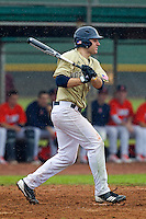 Notre Dame Fighting Irish outfielder Eric Jagielo #7 during a game against the Illinois Fighting Illini at the Big Ten/Big East Challenge at Walter Fuller Complex on February 17, 2012 in St. Petersburg, Florida.  (Mike Janes/Four Seam Images)
