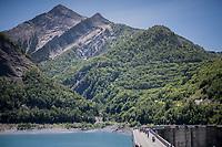 across the water dam<br /> <br /> stage 7: Aoste > Alpe d'Huez (168km)<br /> 69th Critérium du Dauphiné 2017