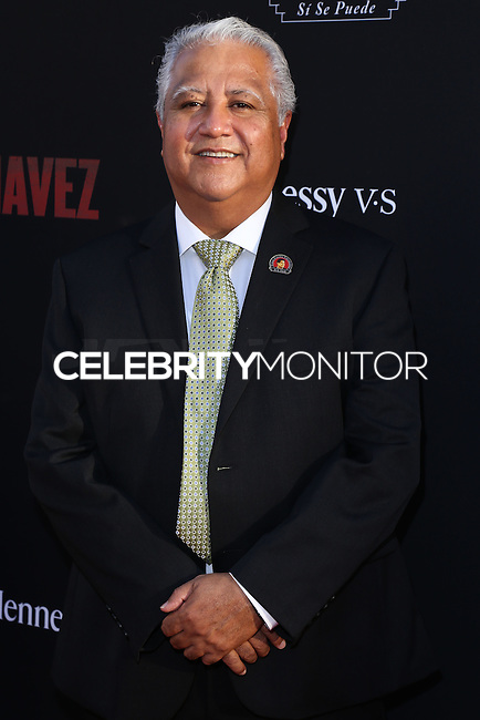 """HOLLYWOOD, LOS ANGELES, CA, USA - MARCH 20: Paul Chavez at the Los Angeles Premiere Of Pantelion Films And Participant Media's """"Cesar Chavez"""" held at TCL Chinese Theatre on March 20, 2014 in Hollywood, Los Angeles, California, United States. (Photo by David Acosta/Celebrity Monitor)"""