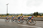 The lead group head for Nice during La Course By Le Tour de France 2020, running 96km from Nice to Nice, France. 29th August 2020.<br /> Picture: ASO/Thomas Maheux | Cyclefile<br /> All photos usage must carry mandatory copyright credit (© Cyclefile | ASO/Thomas Maheux)