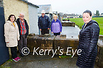 Michelle Brosnan  and back l-r: Kathleen and Francis O'Brien Mary and John Cronin, who are asking the Council to remove the bollards that are blocking their road in Ballyspillane Killarney