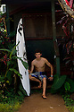 Irish Fergal Smith at the Backpackers on the Northshore of Hawaii.