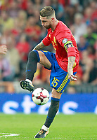 Spain's Sergio Ramos during FIFA World Cup 2018 Qualifying Round match. September 2,2017.(ALTERPHOTOS/Acero)