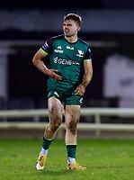 13th March 2021; Galway Sportsgrounds, Galway, Connacht, Ireland; Guinness Pro 14 Rugby, Connacht versus Edinburgh; Oran McNulty during his senior debut for Connacht