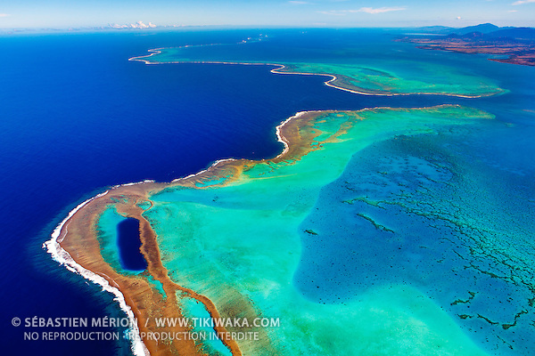 Grand Récif de Koné et la Passe du Duroc, Koné, Nouvelle-Calédonie
