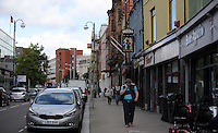 WORDS BY KARL WEST<br /> Pictured: General view of the High Street Friday 30 September 2016<br /> Re: The regeneration of the High Street in Swansea, Wales, UK