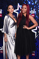 Yinka Bokinni and Shayna Marie Birch-Campbell<br /> arriving for the Global Awards 2020 at the Eventim Apollo Hammersmith, London.<br /> <br /> ©Ash Knotek  D3559 05/03/2020
