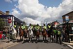© Joel Goodman - 07973 332324 . 04/06/2011 . Dewsbury , UK . The English Defence League hold a demonstration in Dewsbury  . Photo credit : Joel Goodman