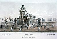 Utopia:  Centennial Exposition--Michigan Building.