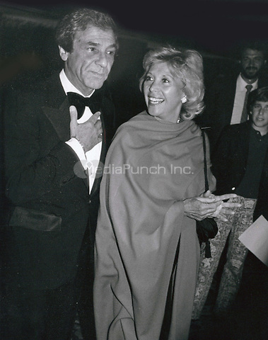 Diana Shore with Jerry Davis 1985<br /> Photo By John Barrett-PHOTOlink.net