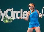 Belinda Bencic (SUI) defeats Sara Errani (ITA), 4-6, 6-2, 6-1at the Family Circle Cup in Charleston, South Carolina on April 4, 2014.