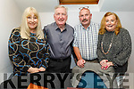 Maggie Johnson from Tralee celebrating her birthday in Croi on Saturday. L to r: Maggie and Jimmie Johnson, Denis and Geraldine Nolan.