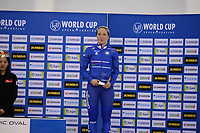 SPEEDSKATING: SALT LAKE CITY: Utah Olympic Oval, 10-03-2019, ISU World Cup Finals, Podium World Cup Mass Start Ladies, Francesca Lollobrigida (ITA), ©Martin de Jong