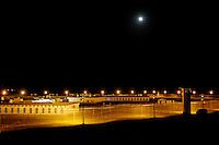USA. Angola. 21st April 2008..Angola at night..©Andrew Testa