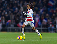 La Harve, France - January 19, 2019:  The USWNT lost to France 3-0 during an international friendly at Stade Oceane.