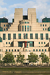 MI6 Building south side of the river Thames London Uk