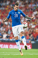 Italy's Federico Bernardeschi during match between Spain and Italy to clasification to World Cup 2018 at Santiago Bernabeu Stadium in Madrid, Spain September 02, 2017. (ALTERPHOTOS/Borja B.Hojas)