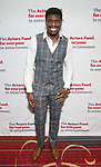 Jawan M. Jackson attends The Actors Fund Annual Gala at Marriott Marquis on April 29, 2019  in New York City.