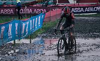 Pim Ronhaar (NED/Pauwels Sauzen-Bingoal)<br /> <br /> UCI cyclo-cross World Cup Dendermonde 2020 (BEL)<br /> <br /> ©kramon
