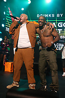 NEW YORK, NY- SEPTEMBER 14: Fat Joe And Ja Rule pictured at Fat Joe And Ja Rule Verzuz Battle at The Hulu Theater at Madison Square Garden in New York City on September 14, 2021. Credit: Walik Goshorn/MediaPunch