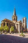 France, Alsace, Haut-Rhin, Rouffach: church Notre-Dame de l'Assomption | Frankreich, Elsass, Haut-Rhin, Rouffach: Kirche Notre-Dame de l'Assomption, Liebfrauenmuenster