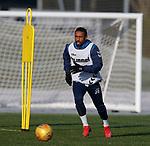 01.02.2019: Rangers training: Jermain Defoe