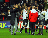 ATTENTION SPORTS PICTURE DESK<br /> Pictured: Paulo Sousa Manager of Swansea City <br /> Re: Coca Cola Championship, Swansea City Football Club v Plymouth Argyle at the Liberty Stadium, Swansea, south Wales. Tuesday 08 December 2009