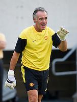Eric Steele. Manchester United defeated Philadelphia Union, 1-0.