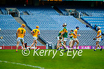 Final whistle at the Joe McDonagh Cup Final match between Kerry and Antrim at Croke Park in Dublin.