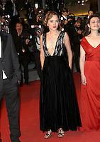 VALERIA GOLINO MONTEE DES MARCHES DU FILM JUSTE LA FIN DU MONDE<br /> RED CARPET OF THE MOVIE<br /> JUSTE LA FIN DU MONDE<br /> 69 EME FESTIVAL DE CANNES
