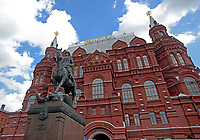 MOSCU - RUSIA, 13-06-2018: El Museo Estatal de Historia de Rusia en Moscú es visto previo al inicio de la Copa Mundo FIFA 2018 Rusia. / The State Historical Museum of Russia in Moscow is seen prior the beginning of the 2018 FIFA World Cup Russia. Photo: VizzorImage / Julian Medina / Cont