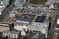 aerial photograph Moscone Center SOMA San Francisco, California