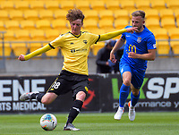 Wellington Phoenix's Owen Smith during the ISPS Handa Premiership football match between Wellington Phoenix Reserves and Southern United at Sky Stadium in Wellington, New Zealand on Saturday, 11 January 2020. Photo: Dave Lintott / lintottphoto.co.nz